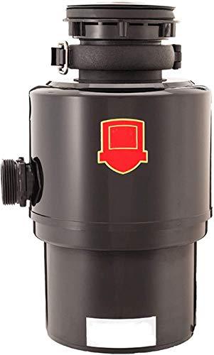 ZKHD Kompakter Müllersetz, 3200 RPM Automatische stille Küche Abfallschleifer Luftschalter 5-Level-Schleifen