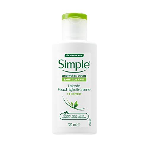 Simple Gesichtspflege Leichte Feuchtigkeitscreme, 125 ml