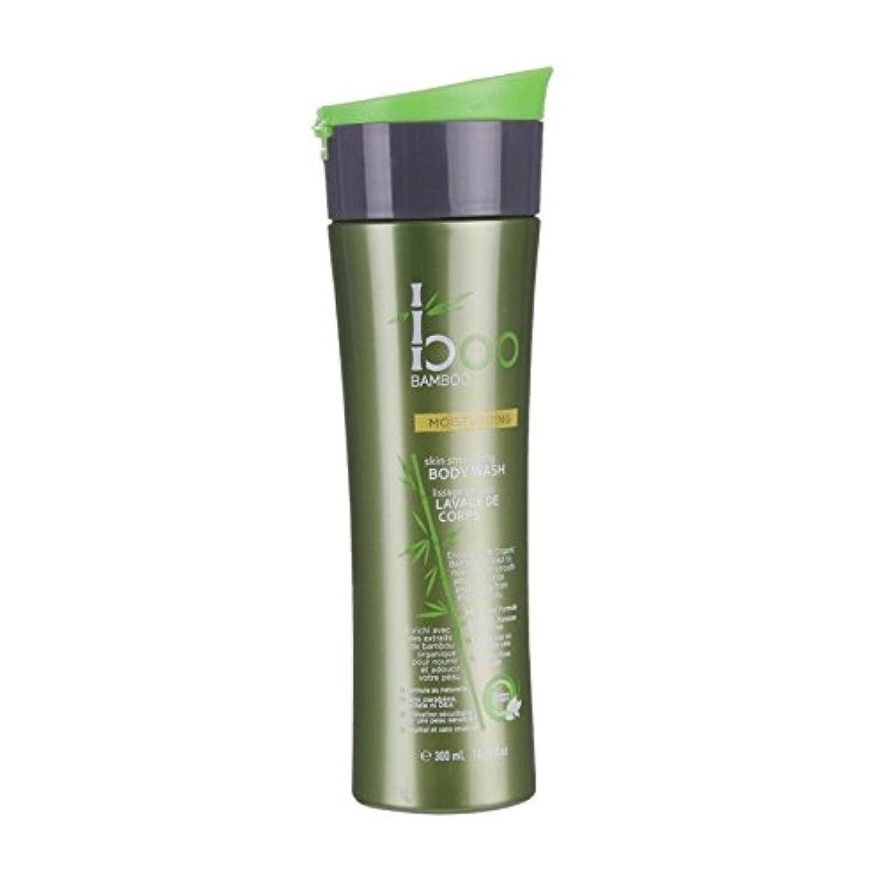 発火する帰する作りBoo Bamboo Moist Body Wash 300ml (Pack of 6) - 竹しっとりボディウォッシュ300ミリリットルブーイング (x6) [並行輸入品]