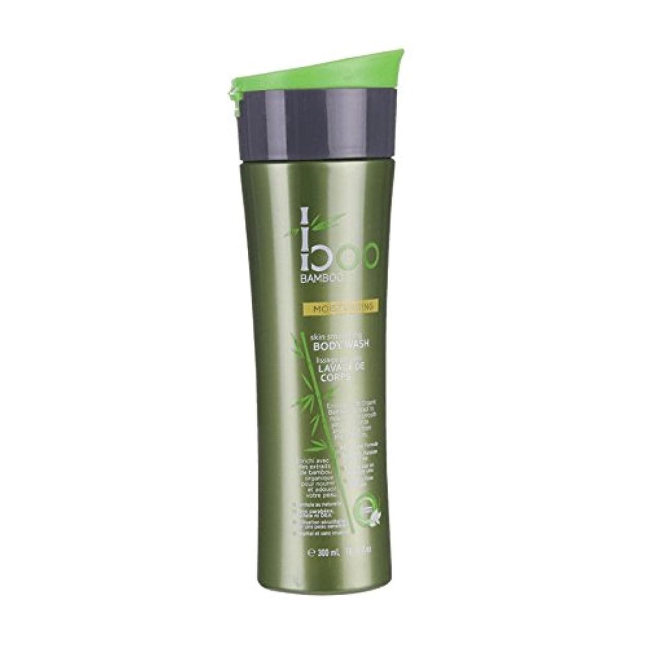 戸口タフ最愛のBoo Bamboo Moist Body Wash 300ml (Pack of 6) - 竹しっとりボディウォッシュ300ミリリットルブーイング (x6) [並行輸入品]