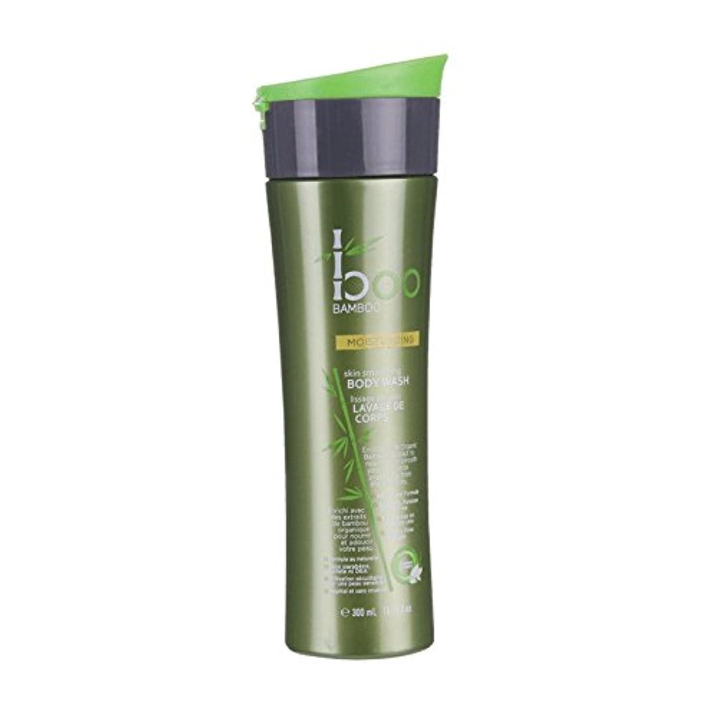 沈黙ペック航空Boo Bamboo Moist Body Wash 300ml (Pack of 2) - 竹しっとりボディウォッシュ300ミリリットルブーイング (x2) [並行輸入品]