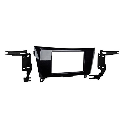Metra 95-7622HG Double DIN Installation Dash Kit for 2014- Nissan Rogue (Black)