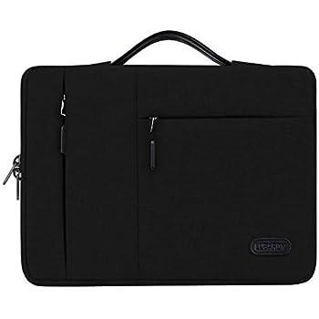 13-14 Inch Laptop Sleeve Case Bag for Notebook Computer Ultrabook MacBook Air/Pro Waterproof 360° Protective Laptop Sleeves Portable Handle Laptop Bag Black