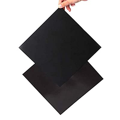 Furiga Build Plate 200x200mm Magnetic Platform Flex Bed Surface for Maker Select Plus V2 Prusa i3 Vinci 1.0 Tarantula I3 Ultimate 3D Printer