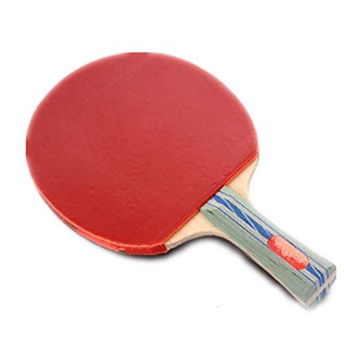 JIANGCJ bajo Precio. Ping Pong Paddle Mesa de Cinco Estrellas Raqueta de Tenis Horizontal Recto Tiro Profesional Entrenamiento Profesional Competencia Disparo Shake Hands Hands Hands
