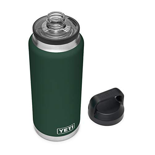 YETI Northwoods Green Rambler with Chug Cap Bottle, 1 EA