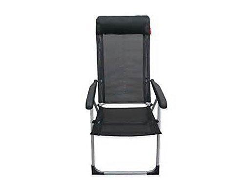 Crusader Lollie Pop Folding Reclining Caravan Camping Chair 6 Position...