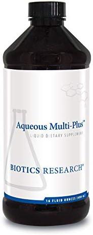 Biotics Research Aqueous Multi Plus Easy to Take Liquid Multi Vitamin or Mineral Full Spectrum product image