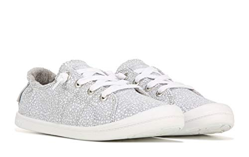 Roxy Womens Bayshore Sneakers (Grey Dot) - Size 7.5 M