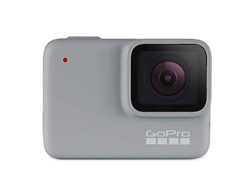 GoPro HERO7 White - E-Commerce Packaging - Waterproof Digital Action Camera with Touch Screen 4K HD Video 10MP Photos Live Streaming Stabilization