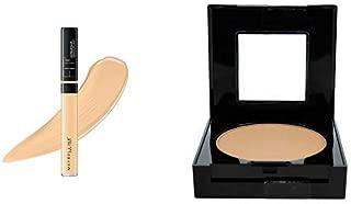 Maybelline New York Fit Me Concealer,25 Medium, 6.8ml + Fit Me Matte Poreless Powder, 220 Natural Beige, 8.5g