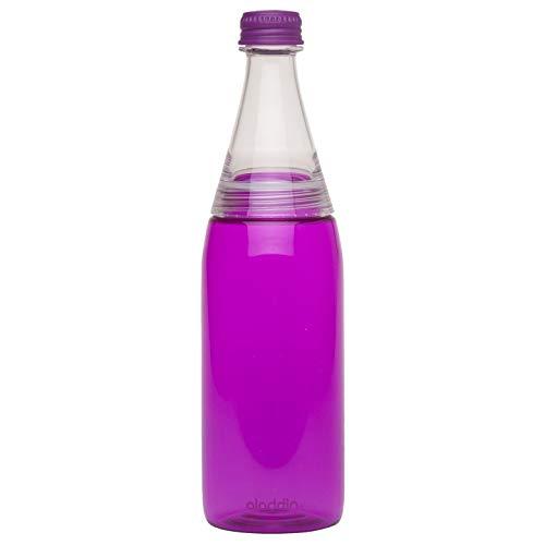 Aladdin 32355 Bistro To-Go Trinkflasche, lila, 0,6l