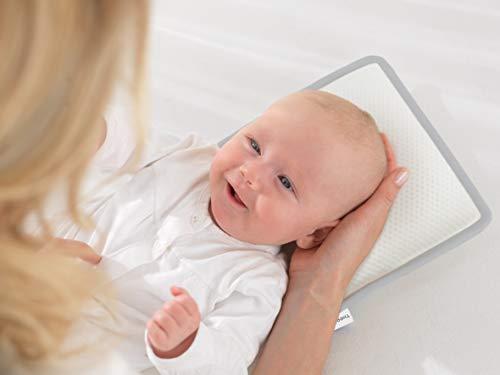 THERALINE Das Babykopfkissen | Prävention & Sicherheit | Größe 1 (bis ca. 7 kg)