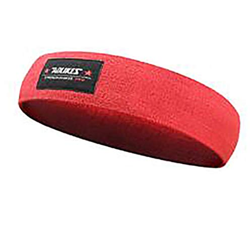 KSER Hip Lift Fitness Squat Widerstandsring Yoga Stretch Band rot rot XL Sportgerät Für Zuhause Fitness Putter Haarband Jogging schweißband Anti-rutsch-silikon-antitranspirant-Stirnband