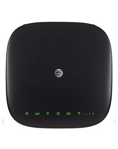 AT&T LTE Wireless Internet Router ZTE MF279| Mobile 4g lte Wifi Hotspot MF279 | Zte hotspot antenna with parental control, GSM Unlocked - Black (Renewed)