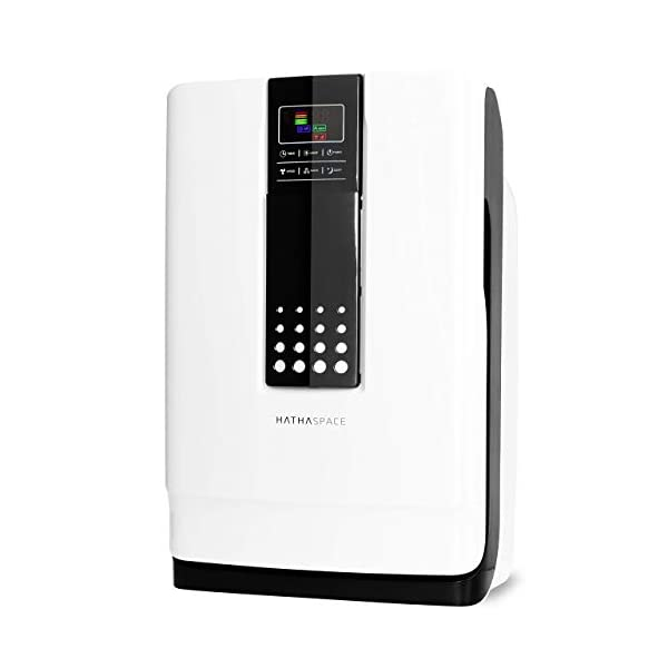 Hathaspace Smart True HEPA Air Purifier for Home, 5-in-1 Large Room Air Cleaner for...