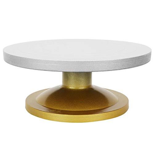 GAESHOW métal céramique Machine poterie roue Table rotative plateau tournant argile modélisation Sculpture facile à installer(23 cm)