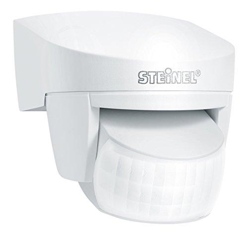 Steinel Bewegungsmelder IS 140-2 weiß, 140° Bewegungsensor, max. 14 m Reichweite, Aufputz und Unterputz, Innen und Außen