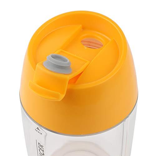 Juicer, Seguro de usar portátil Juicer portátil licuadora para deportes para viajar (amarillo)
