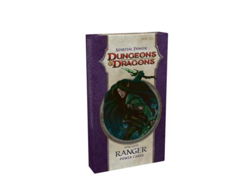 Martial Power - Ranger Power Cards: A 4th Edition D&d Accessory (Dungeon Dragons)