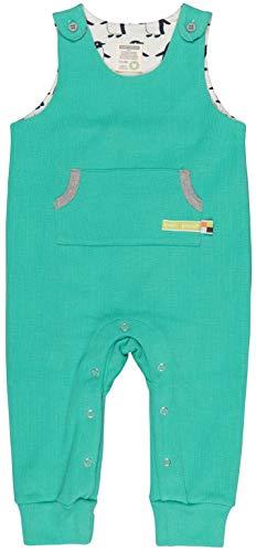 loud + proud Strampler Uni Aus Bio Baumwolle, Gots Zertifiziert Polaina, Verde (Jade Jad), 68 (Talla del Fabricante: 62/68) para Bebés