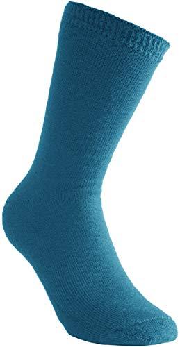 Woolpower 400 Socks - Chaussettes thermiques, Adulte (unisexe), 400, pétrole