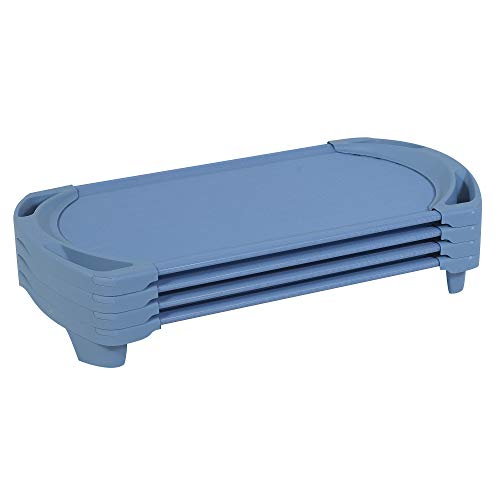 Angeles-AFB5736A Angels Rest Toddler 4 Piece Spaceline Cots, Wedgewood