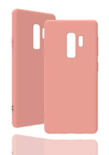 Invented. Hülle [ passend für Samsung Galaxy S9 Plus, in Pink ] Originale Silikonhülle - Hochwertig, ideale Verarbeitung - Schlichtes Silicone Hülle
