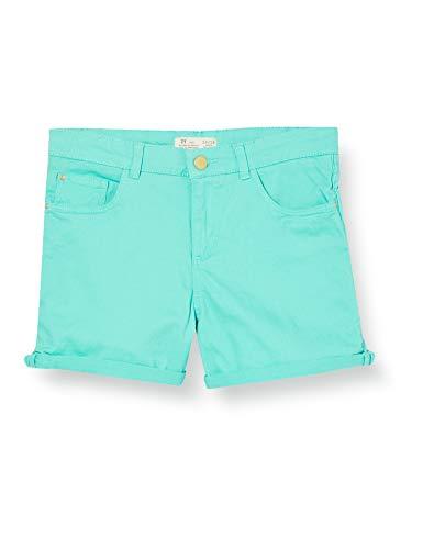 ZIPPY Short de niña SS20 Pantalones Cortos, Pool Blue 15-5218-tc, 11/12 para Niñas