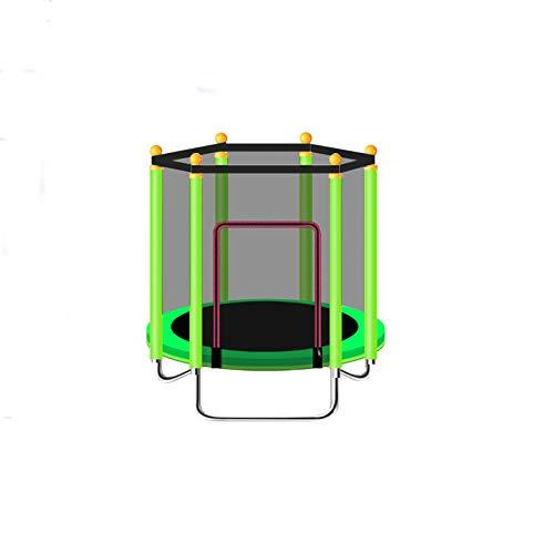 RTVZ trampoline, inklapbaar, voor het springen thuis voor kinderen binnenshuis, met net, voor trampoline, familie, baby, kinderen, bed