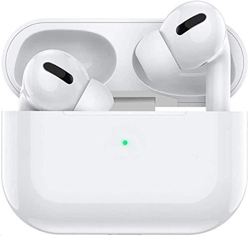 Bluetooth 5.0 Kopfhörer mit Mikrofon, Kabellose Kopfhörer IPX5 wasserdichte,Noise-Cancelling-Kopfhörer,Geräuschisolierung,mit 24H Ladekästchen für Android/iPhone/Samsung/Apple AirPods Pro