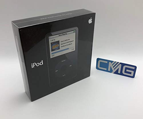 iPod Classic Video 5.Generation 30 GB HDD Speicher Mp3 Mp4 Musik Video Foto Player (5G 30GB, Schwarz)