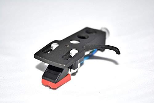 Zwarte platenspeler headshell houder met cartridge voor Omnitronic BD1350, BD1520, BD1550, DD2220, DD2250, DD3220, DD3250, DD5250, DD5220L, BD1390, DD2550, DD2520 platenspeler