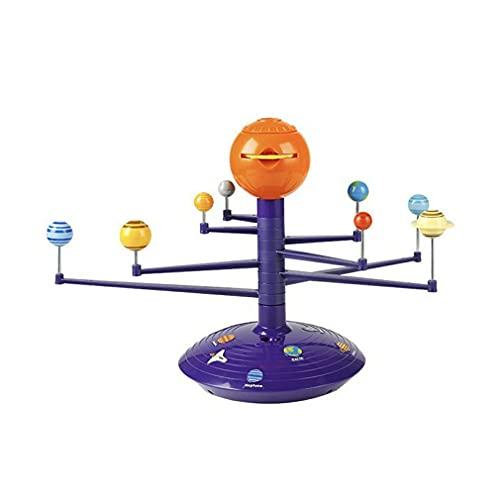 Haowen Lámparas de proyector luces proyector estrella proyecciones planetarias lámpara para niños púrpura + naranja