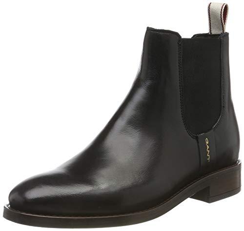GANT Footwear Damen FAY Chelsea Boots, Schwarz (Black G00), 39 EU