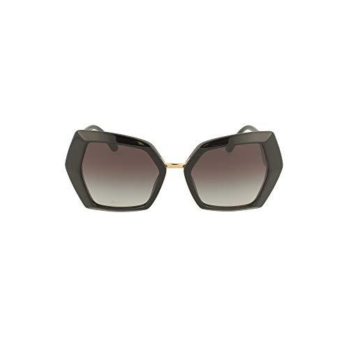 Dolce & Gabbana DG MONOGRAM DG 4377 BLACK/GREY SHADED 54/19/145 Damen Sonnenbrillen