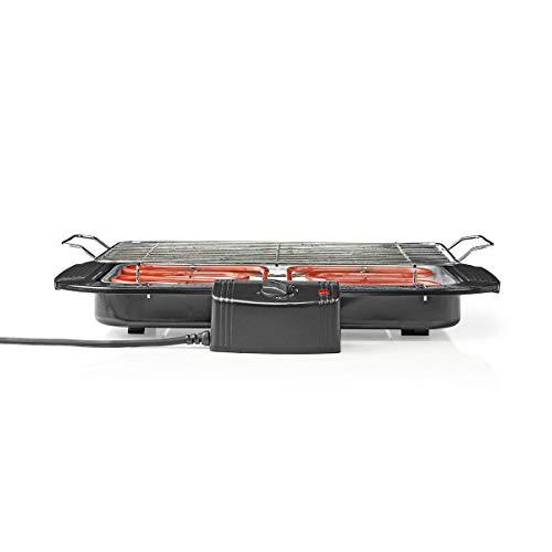 TronicXL Tischgrill elektrisch Elektro Tisch Grill BBQ Elektrischer Thermostat und Wasserbad aus Aluminium
