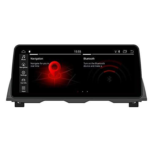 JIBO para B M W Serie 5 M5 F10/F11 2011-2012 CIC Androide Auto Estéreo GPS Navegación Multimedia Jugador 12,3' Tocar Pantalla Auto Cabeza Unidad WiFi SWC Nav Sat