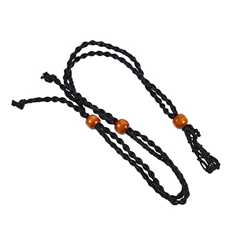 EXCEART Collar Cordón Soporte de Piedra Soporte de Collar Vacío Collar de Piedra de Cristal Cable de Reemplazo Collar Cuerda para Hacer Joyas Diy