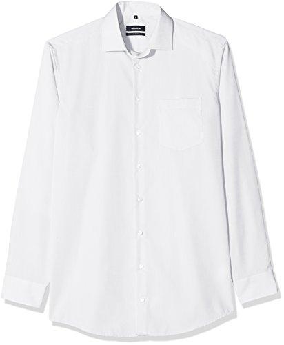 Seidensticker Herren Businesshemd Comfort Extra Langer Arm mit Kent Kragen Bügelfrei , Weiß (Weiß 1) , XXXX-Large (Herstellergröße: 49)