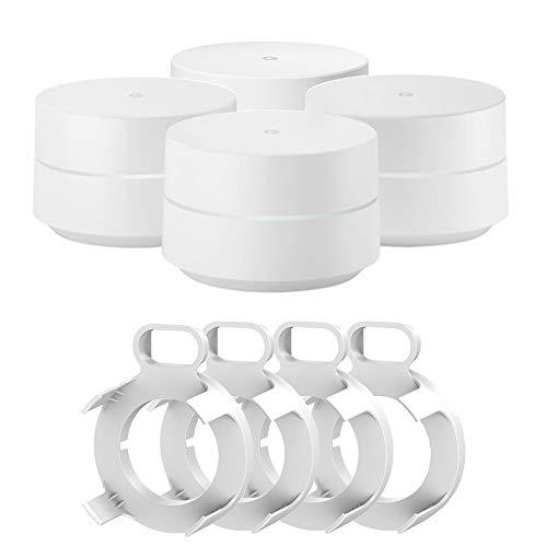 Price comparison product image Google Wi-Fi - 4-Pack (GA00158-US) WiFi Wall Mounts (4)