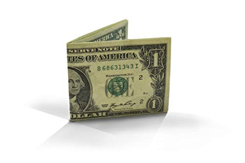 Cartera Billete un dólar Monedero diseño 1 dolar Billetera Tyvek Origami
