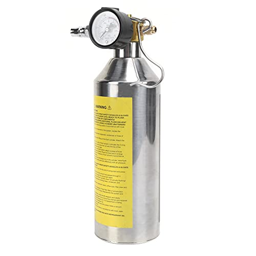 Botella de Limpieza de tuberías, artesanía Exquisita, procesamiento Profesional, Botella de Lavado de tuberías, pequeña y Liviana para tuberías de Combustible para Redes de enfriamiento