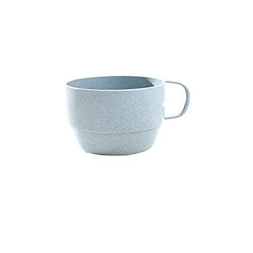DUEL Taza de leche de paja de trigo taza europea taza de café taza de leche desayuno taza taza taza de té pareja simple taza