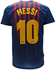 Camiseta Barcelona Messi  Home 2018/2019 Replica Oficial