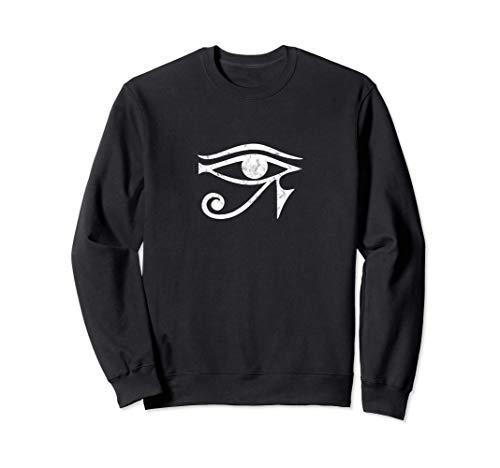 Ojo de Horus símbolo protección egipcio amuleto de la suerte Sudadera