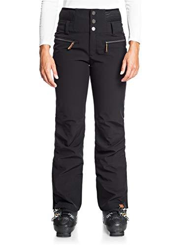 Roxy Rising High-Pantalón Shell para Nieve para Mujer, True Black, XS