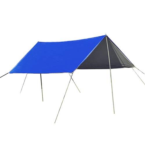 #N/A/a Toldo Al Aire Libre de La Carpa de La Yarda de 3-4 Personas Protege El Refugio de La Cubierta del Sol del Toldo del Toldo - Azul