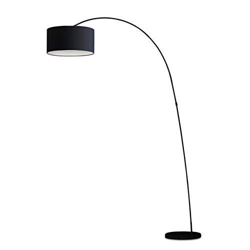 Faro LED-leeslamp Papua zwart IP20   60W   68463