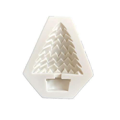 L_shop Weihnachtsbaum Silikonform Urlaub Fondant Baumkuchen Backform Seifenformen Schokolade Eiswürfelschale DIY Tools